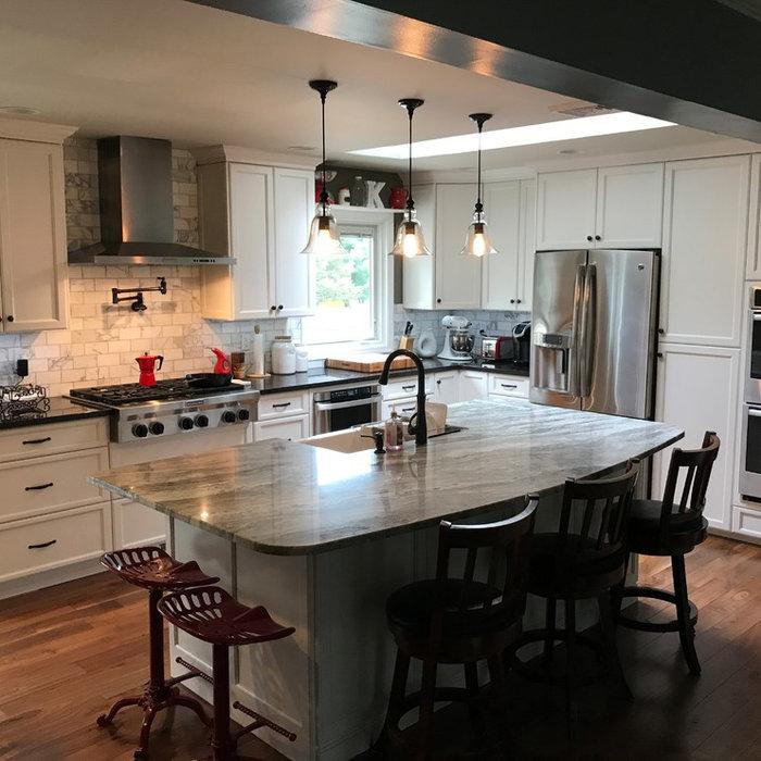 Carrie's White Kitchen