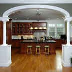 Traditional Kitchen With Contrasting Island Traditional Kitchen Denver By Kitchens By