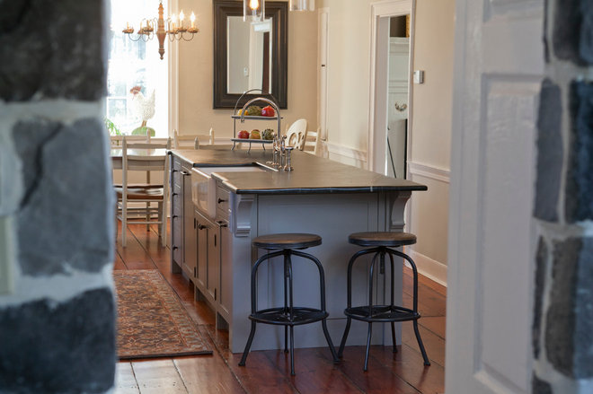 Farmhouse Kitchen by Jarrett Design, LLC