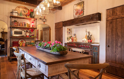 Shop Houzz Rustic Farmhouse Dining