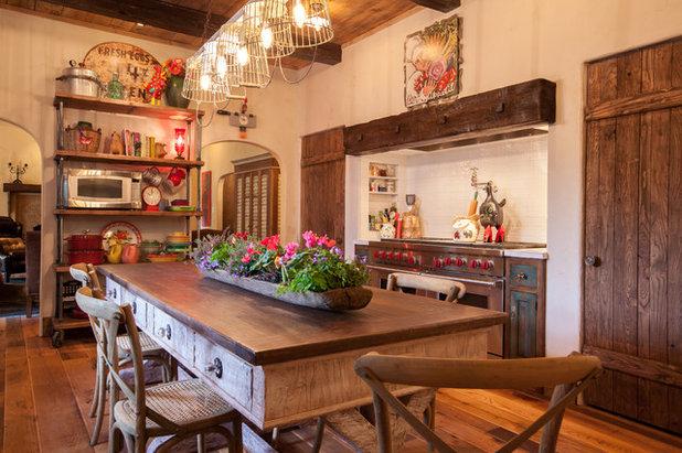 Farmhouse Kitchen by Key Residential