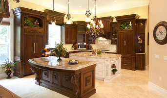 Carved Wood Highly Detailed Traditional Ornate Kitchen