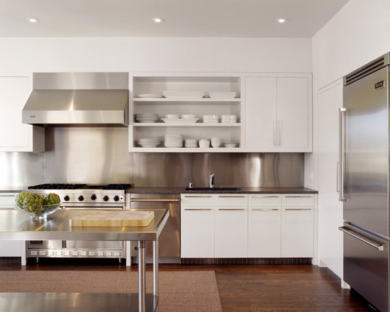 Contemporary White Kitchen contemporary white kitchen cabinets | houzz
