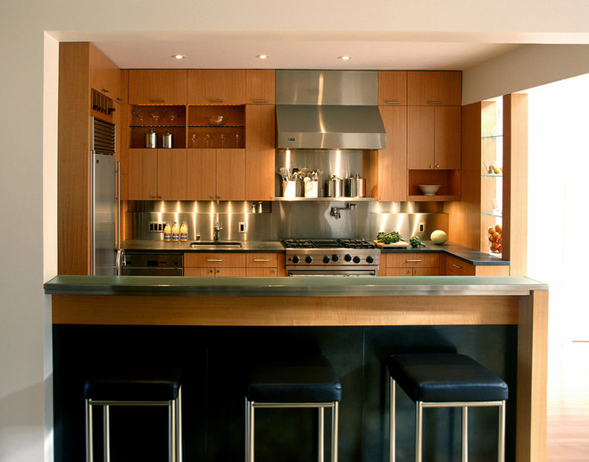 Contemporary Kitchen by Cary Bernstein Architect