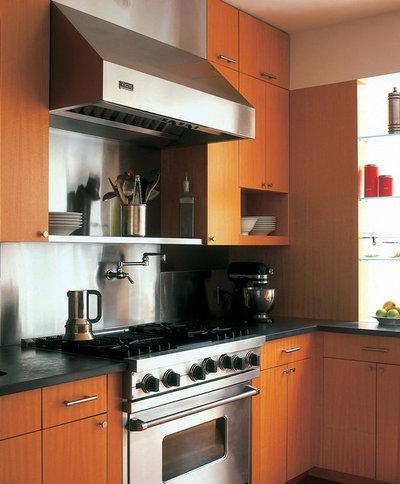 Modern Kitchen by Cary Bernstein Architect