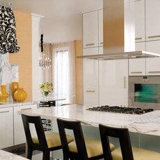 Contemporary Kitchen by Jamie Herzlinger