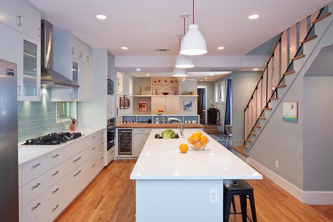 Contemporary Kitchen by Merzbau Design Collective