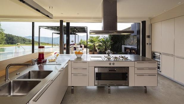 Trendy Køkken by VelezCarrascoArquitecto
