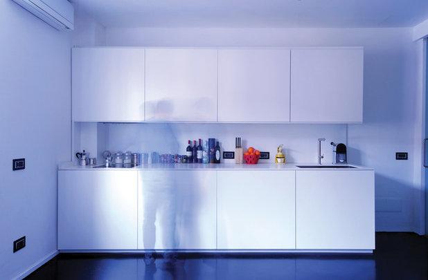 idee per paraschizzi in cucina, con o senza piastrelle - Vernice Lavabile Cucina