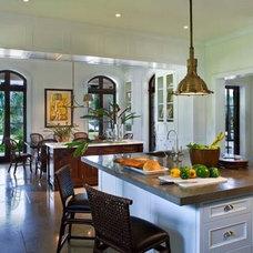 Mediterranean Kitchen by Dorlom Construction