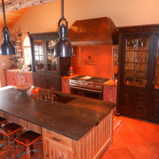 Traditional Kitchen by Barbara Page Interiors