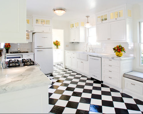 black and white checker floor kitchen design ideas  remodel,Black And White Kitchen Floor,Kitchen ideas