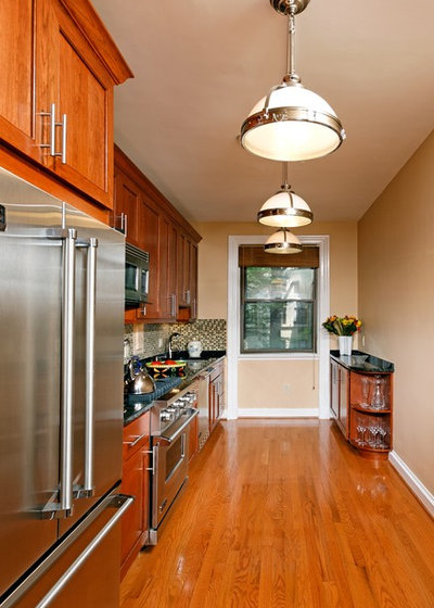 A single wall kitchen may be the single best choice for Single wall kitchen designs
