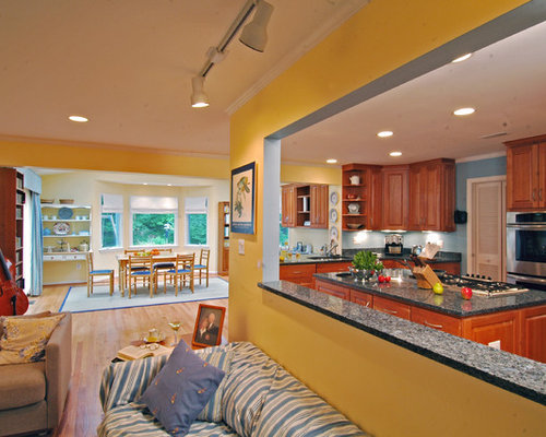 SaveEmail. Kitchen And Living Room Design Ideas   Remodel Pictures   Houzz