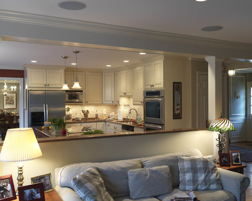 Half Wall Kitchen Ideas, Pictures, Remodel and Decor