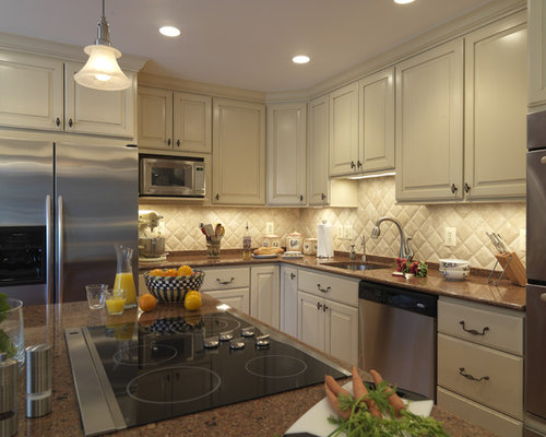 diagonal backsplash houzz