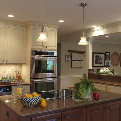 Traditional Kitchen half wall Design Ideas, Pictures, Remodel and ...
