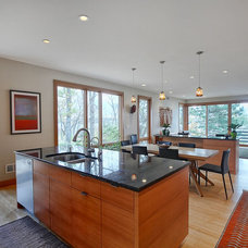 Contemporary Kitchen by M & M Home Contractors Inc