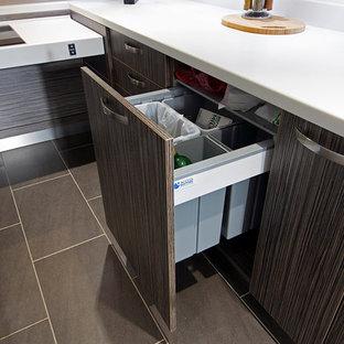 Cashmere & Grey Wheelchair Accessible Kitchen 20160123- Sorting Bin