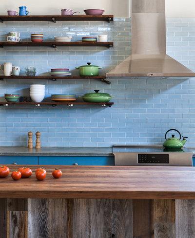 Farmhouse Kitchen by Atmosphere Design Build