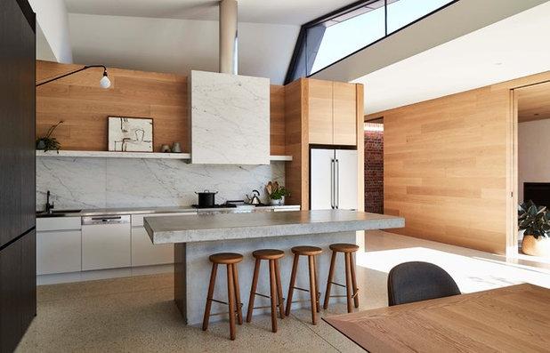 コンテンポラリー キッチン by RBA Architects and Conservation Consultants