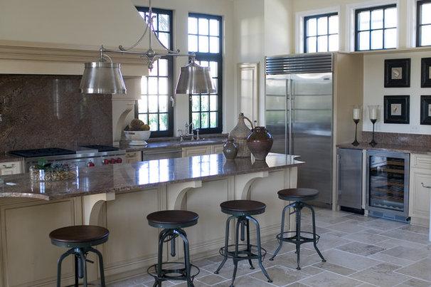 Beach Style Kitchen by Margaret Donaldson Interiors