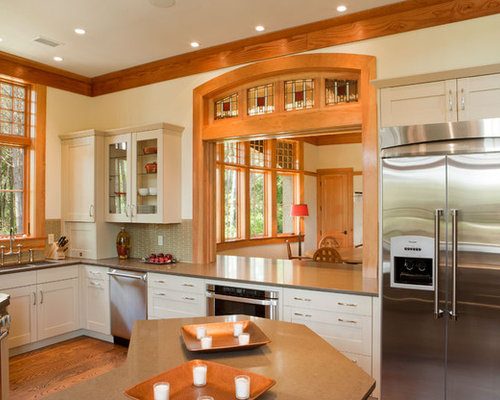white kitchen cabinets with oak trim honey oak trim home design ideas pictures remodel and decor 2084
