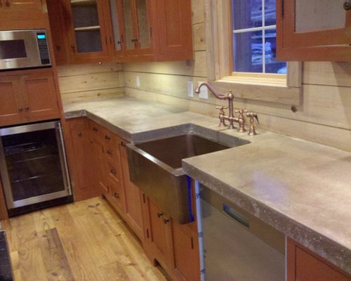 Cast In Place Concrete Countertops : Cast in place concrete countertops