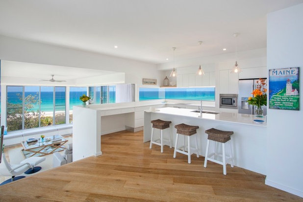 Beach Style Kitchen by Aboda Design Group