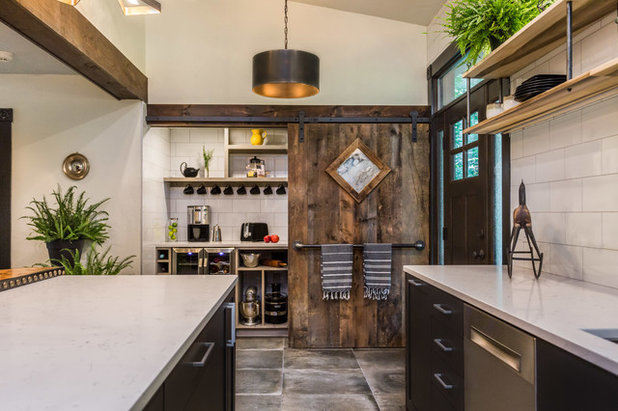 industrial kitchen by new england design elements - Industrial Style Kitchen