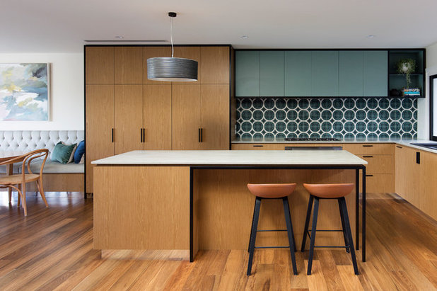 Contemporary Kitchen by Woods & Warner
