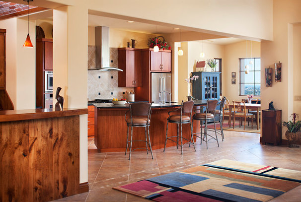 Eclectic Kitchen by Pacific Western Painting, Inc.