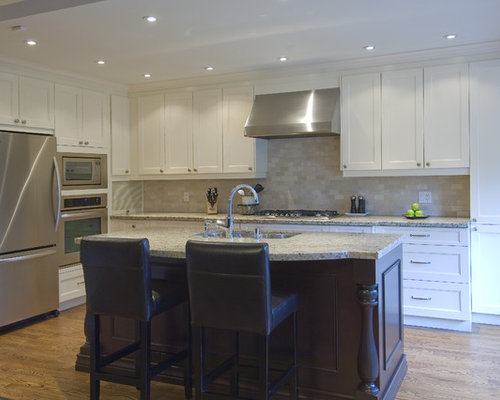 Travertine subway backsplash ideas pictures remodel and decor Kitchen design newtown ct