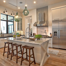 Eclectic Kitchen by Greenbelt Construction