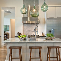 eclectic kitchen by Greenbelt Homes