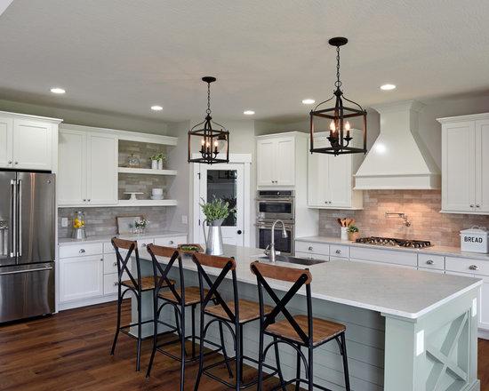 two-tone kitchen cabinet ideas | houzz