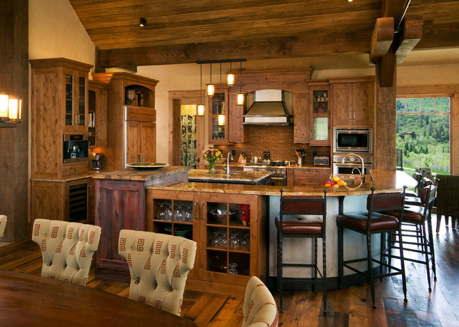 Eclectic Kitchen by Amaron Folkestad GC Steamboats Builder