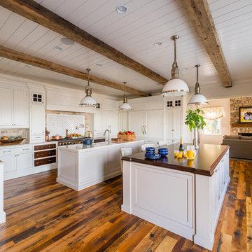Catawba Island Lakefront Home, Kitchen & Hearth Room