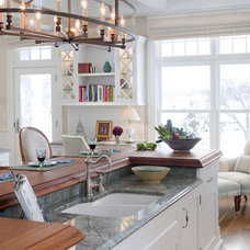 Contemporary Kitchen by Catherine Cleare