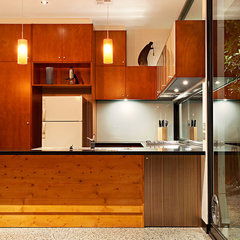 contemporary kitchen by S2 design