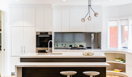 Before & After: A Kitchen That Celebrates Its Curve