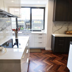 South Coogee House Contemporary Kitchen Sydney