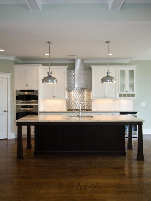 Contrasting Kitchen Island Houzz