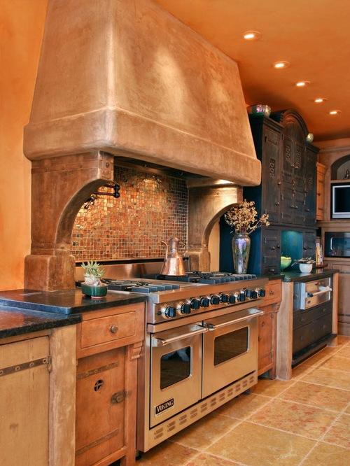 Southwestern Design Ideas southwest kitchen design hand peeled pine viga logs support the deck above split dry Saveemail