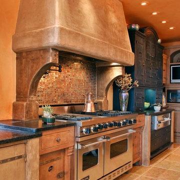 Cayucous Kitchen by Jory Brigham Designs