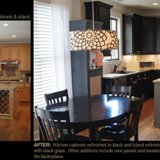 Modern Kitchen by Creative Cabinets and Faux Finishes. LLC