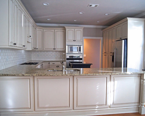 Refinished Oak Cabinets Home Design Ideas, Pictures ...