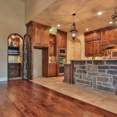 Traditional Kitchen by Oakmark Custom Homes