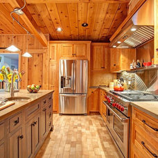 Rustic Kitchen by Jackson Design & Remodeling