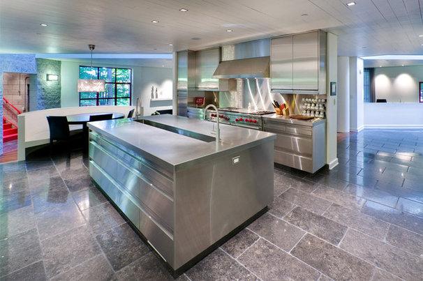 Industrial Kitchen by Rugo/ Raff Ltd. Architects